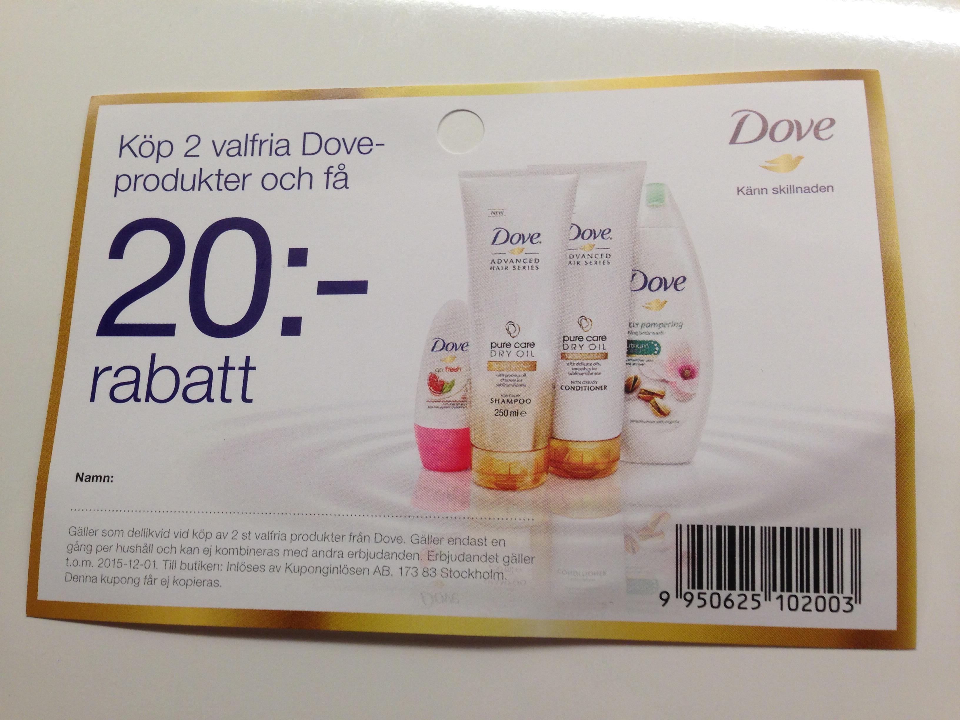 Dove_kupong
