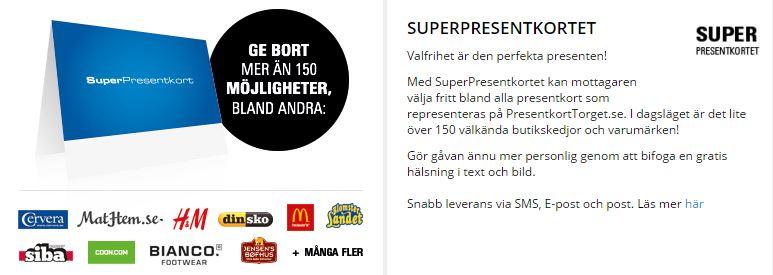 superpresentkort