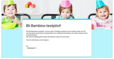 bambino_testpilot